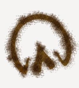 Hoof-print_brown