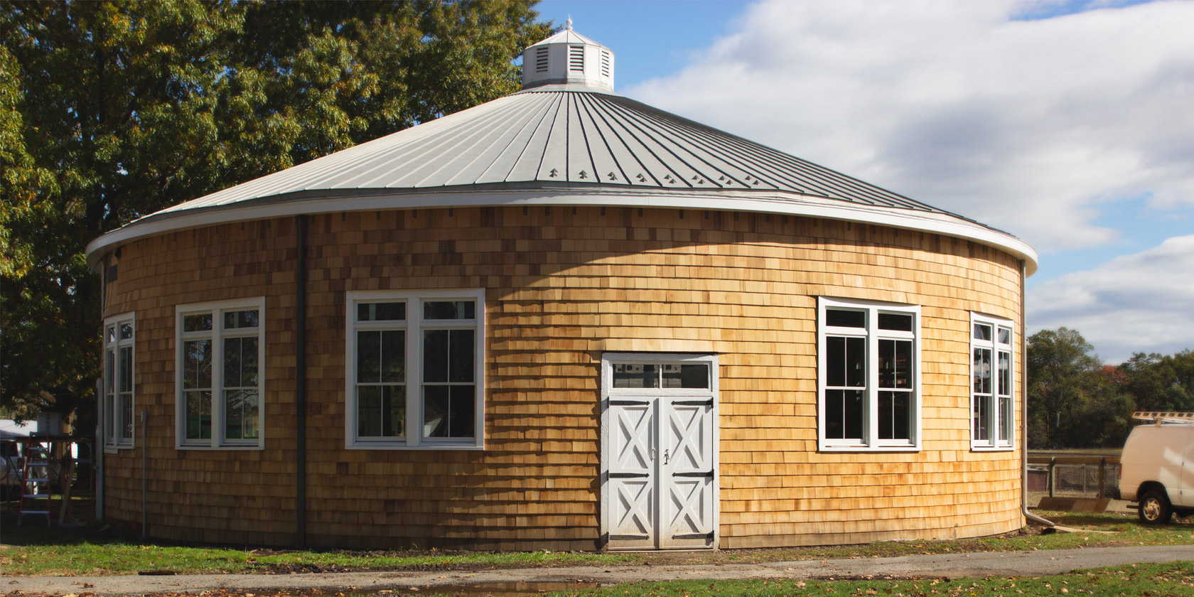 The Roundhouse A historic 1920's building that serves as a livestock classroom.