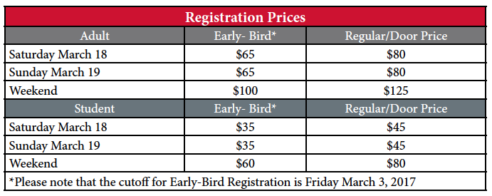 Registration Costs